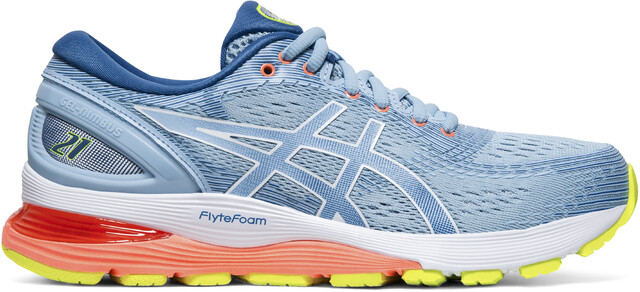 asics Gel-Nimbus 21 Shoes Damen heritage blue/lake drive
